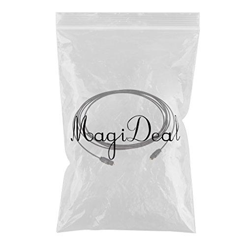 MagiDeal OD2.2 Cavo Audio Fibra Ottico Digitale VCR CD MD Dvd TosLink Addattatore - 3m