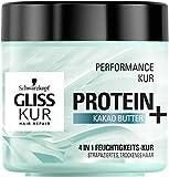 SCHWARZKOPF GLISS KUR Protein + Kakao Butter Performance Kur, 6er Pack (6 x 400 ml)