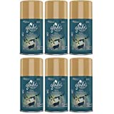 Glade Automatic Spray Refill - Limited Edition - Winter Collection 2017 - Warm Flannel Embrace - Net Wt. 6.2 OZ (175 g) Per Refill Can (6 Pack)