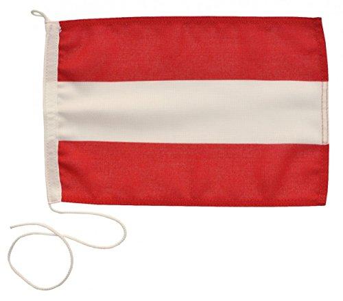 Navyline Gastlandflagge Österreich in Zwei Größen, Größe:20 x 30 cm