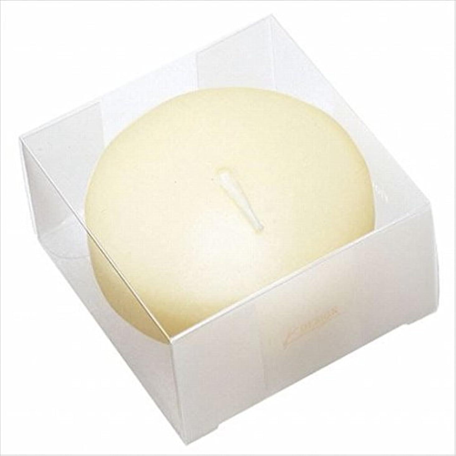 素敵な高さ奇妙なカメヤマキャンドル( kameyama candle ) プール80 (箱入り) 「 アイボリー 」 キャンドル
