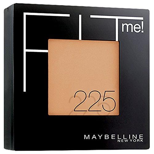 Gemey Maybelline Fit Me Poudre Compacte N°225 Beige Ambré