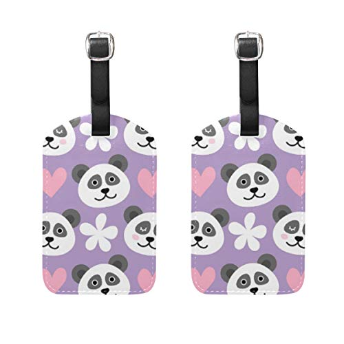 Etiqueta Para Equipaje Panda  marca SUABO