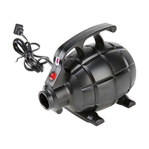 HIRAM 220V Bomba Eléctrica de Aire para Colchoneta para Volteretas 3 Boquillas (Bomba Eléctrica de Aire)