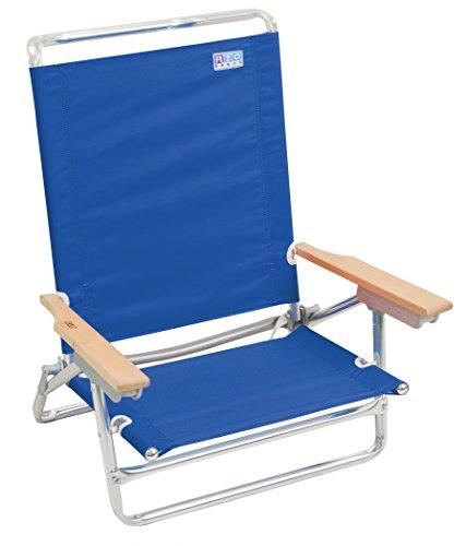 Rio Brands 5 Position Beach Chair