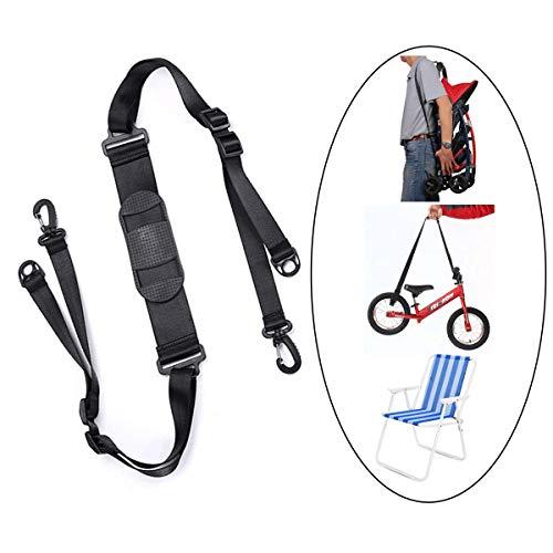 ASEOK Kick Scooter Schultergurt, Verstellbarer Trageriemen für Kinder Balance Bike Scooter Klappstuhl Yogamatte