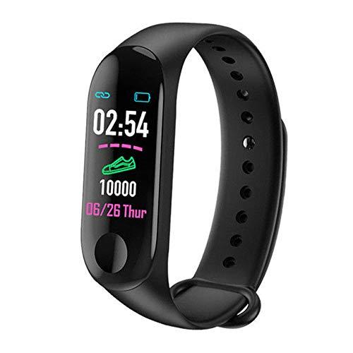 Générique Bluetooth Bracelet Moniteur de fréquence Cardiaque Fitness Tracker Montre de Sport Cadeau sain équipement de Fitness en Plein air