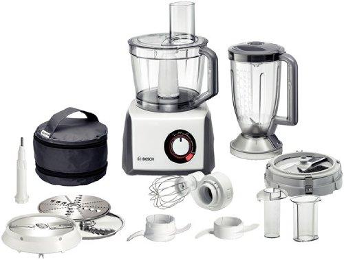 Bosch MCM68840 - Robot de cocina, 1250 W, capacidad de 3,9, color blanco