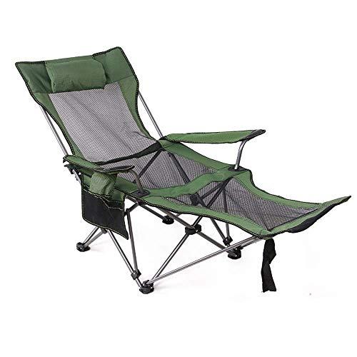 HLONG Klappstuhl faltbar |Relaxliege Liegestuhl | Gartenliege | Gartenstuhl | ergonomische Relaxsessel | wetterfest | 150 kg Belastung,A