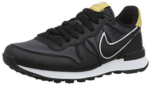 Nike Damen W Internationalist Heat Laufschuhe, Mehrfarbig (Black/Black/Wheat Gold 001), 36.5 EU