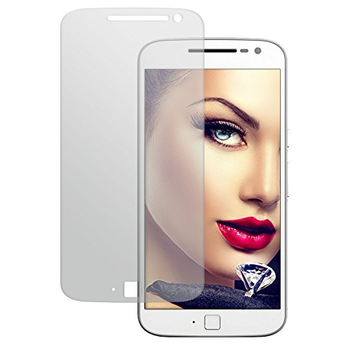 mtb more energy® Schutzglas für Lenovo Moto G4 Plus / G4+ (5.5'') - Tempered Glass Protector Schutzfolie Glasfolie Tempered Glass