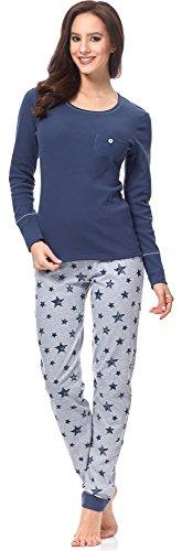 Italian Fashion IF Pijama Camiseta y Pantalones Mujer C492T 0223