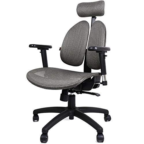 Qi Peng-//Chaise pivotante - Chaise Ergonomique Chaise de Jeux Esports Chaise de Bureau Chaise Boss Chaise d'ordinateur Chaise de Bureau en Maille Respirante Chaise pivotante (Couleur : B)