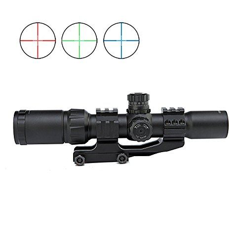 Spike Tactical 1.5-4X30BE Rifle Scope w/Tri-Illuminated Recticle & PEPR...