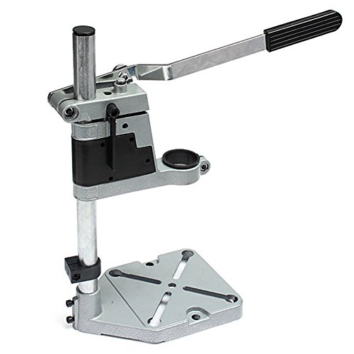 KENNEX Clif 400mm Hand Drill Stand Converter to Bench Press (Black and Silver)