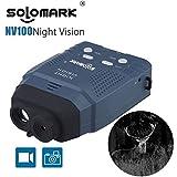 SOLOMARK ナイトビジョン 赤外線望遠鏡 暗視スコープ 赤外線カメラ デジタル暗視鏡 単眼鏡 328ft/100m 日本語取扱説明書付き