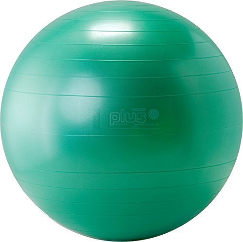 Gymnic Plus Burst Resistant Exercise Ball, Green (75 cm) by Gymnic