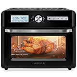 CROWNFUL 19 Quart Air Fryer, 10-in-1 Countertop Toaster...