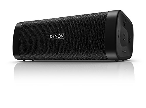 Denon Mini DSB-150BT Negro - Altavoces portátiles (4 cm, Inalámbrico, Bluetooth/3.5 mm,...