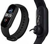 KE:- Compatibility: IOS 9.0 and above, Android 5.0 and above, iOS 7.1 or above, Bluetooth 4.2+5.0 Dual-mode. KE:- Water proof Smart fitness Band with Bluetooth or Heart Rate sensor,Activity Records, Sleep Monitor, Calore Burned, Rejected Calling, Ala...