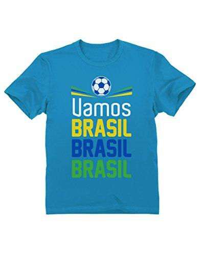 Green Turtle T-Shirts Camiseta para niños - Apoya a la selección Brasil en el Mundial 2018!