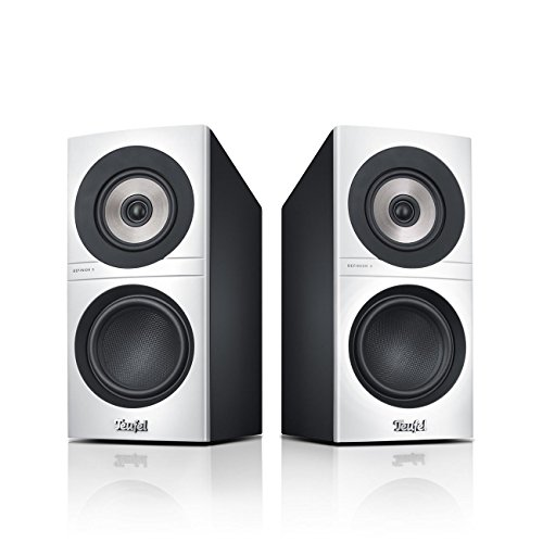 Teufel Definion 3S Weiß/Schwarz Stereo Lautsprecher Musik Sound Hochtöner Mitteltöner Bass Speaker High End HiFi Tieftöner Schalldruck