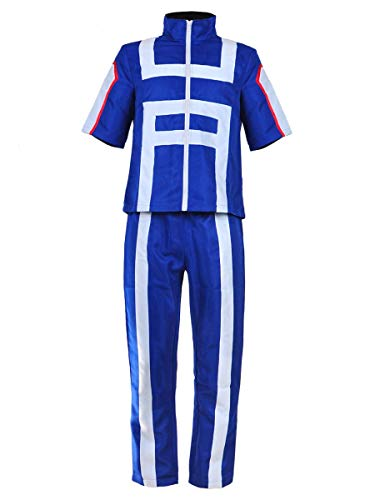 CoolChange Disfraz Cosplay de My Hero Academia Traje de Deporte de Izuku Midoriya, Talla: L