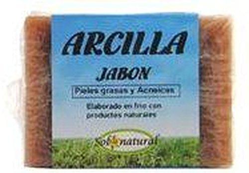Jabón Pastilla Arcilla Acné de Solnatural