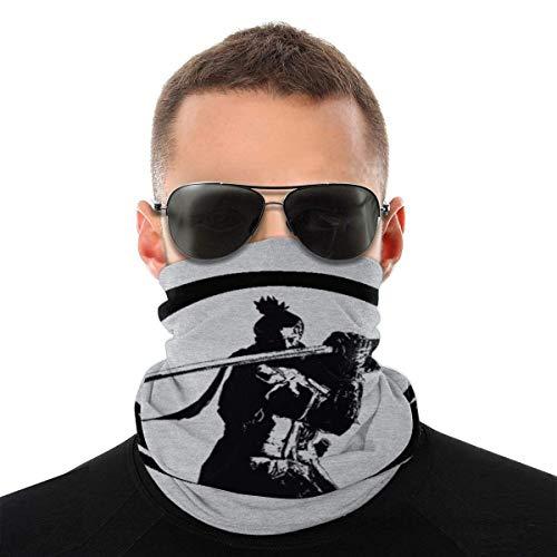 Teemoo Sekiro Shadows Die zweimal Shenobi Enso Dark Variety Kopftuch Gesichtsmaske Magic Headwear Neck Gaiter Gesicht Bandana Schal