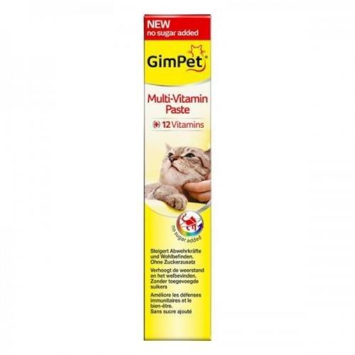Gimpet Multi-Vitamin Paste 200 g, Katzenleckerli, Katzenfutter