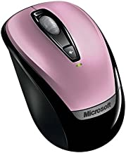 Microsoft Wireless Mobile Mouse 3000 - Pink