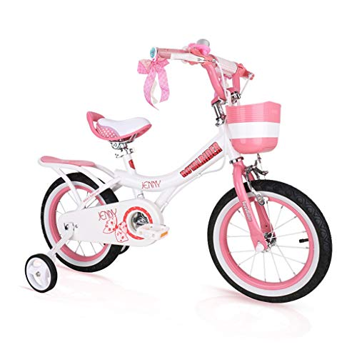 Children Bicycle Girl Bicycle Boy Girl Scooter Indoor Exercise Bike Adjustable Bicycle Best Gift For Kids 12/14/16/18 Inches 3-18 Years Old Children'S Bicycle(Pink ) ( Color : Pink , Size : 18inch )