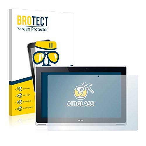 BROTECT Panzerglas Schutzfolie kompatibel mit Acer Aspire Switch 11 - AirGlass, extrem Kratzfest, Anti-Fingerprint, Ultra-transparent