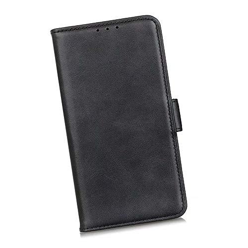 Boleyi Schutzhülle für Motorola Razr 5G, [ Magnetverschluss, Kartenfach, Standfunktion ] Handytasche Flip Brieftasche Schutzhülle Magnet Wallet Hülle Tasche Lederhülle für Motorola Razr 5G,Schwarz