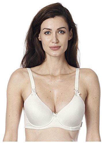 Noppies luxe Push-up borstvoedings-BH & zwangerschaps- BH met beugel en zachte schaal in crème 90482