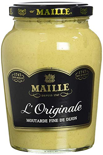 Maille Moutarde Fine de Dijon L'Originale Forte Bocal 380g