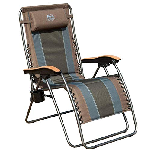 Timber Ridge Zero Gravity Chair Oversized Recliner Padded...