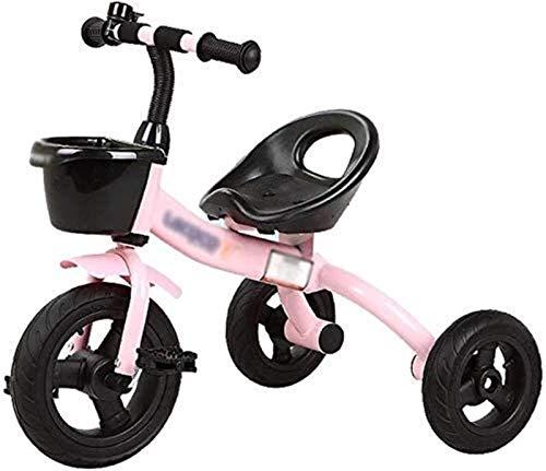 GYF Triciclo de los niños del niño del niño del niño del niño del triciclo del triciclo del bebé del juguete de los niños del coche del bebé de 2-5 años 3 ruedas de
