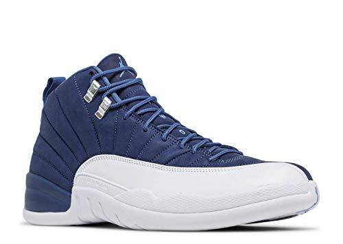 Nike Air Jordan XII 12 Retro Indigo Stone Blue/Legend Blue/Obsidian 130690-404 US Size 8