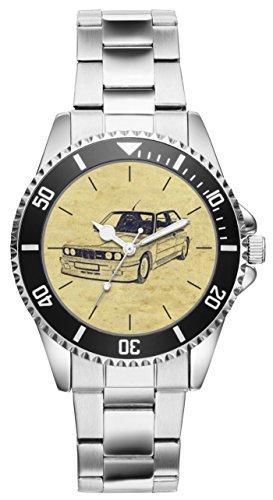 Geschenk für BMW M3 E30 Fans Fahrer Kiesenberg Uhr 6209
