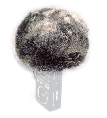 Furry parabrezza vento cover compatibile per Tascam dr-100mkii dr-40 dr-05 dr-100mkii dr-44wl DR100MK3 Sony pcm-d1 pcm-d100 pcm-d50 Zoom H4 N H2 N H4 N Pro H6 H4 H5