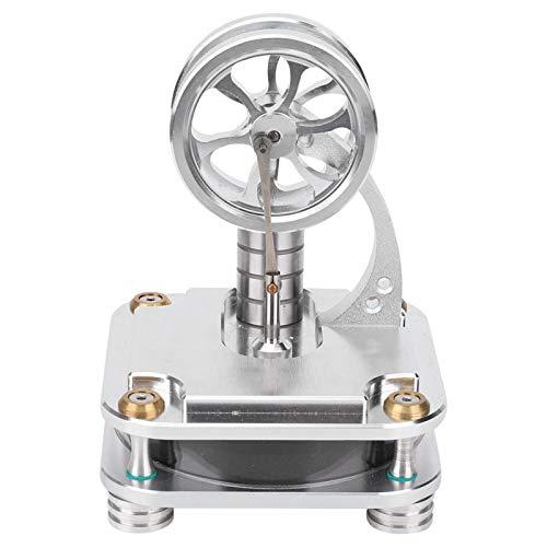 Modelo de motor Stirling de diferencia de baja temperatura EVTSCAN, motor de accionamiento de agua caliente, juguete de física para regalo