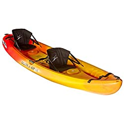 top 10 2 person kayaks Ocean Kayak Malibu 2 Tandem Sit On Top Recreation Kayak (Sunrise, 12ft)