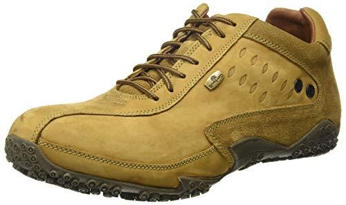 Woodland Men's Camel Leather Sneaker-8 UK/India (42 EU) (GC 0572108CMA)