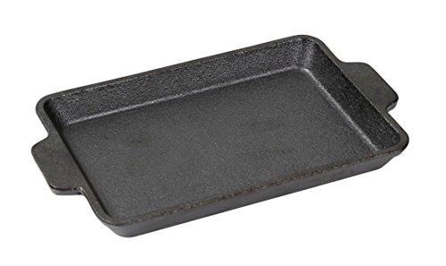 キャプテンスタッグ(CAPTAIN STAG) 鉄板 プレート 鋳物 グリルプレート B6サイズ 【UG-34/43/44カマドスマートグリルB6適応】【UG-42カマドスマートグリルB5ハーフサイズ】 UG-1554