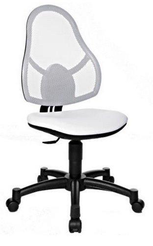 Topstar Kinder Bürostuhl/Drehstuhl Open Art JUNIOR Netzstoff weiß