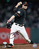 Tony Watson Autographed Black 8x10 Photo SF Giants Signed in Store 6/23/18