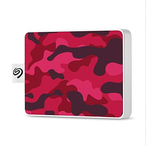 Seagate Technology Technology Technology Disque Dur externe SSD, One Touch SSD 500Go USB3.0, Special Edition Magenta