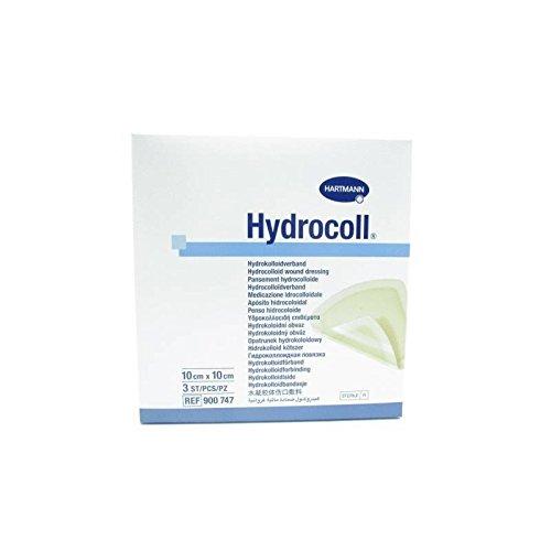 HYDROCOLL 10X10CM 3 UDS, Negro, Estándar