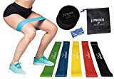 Sportness & Health Bandas elásticas ejercicio y musculación Discos deslizantes resistencia Toalla y bolsa. Super Kit.